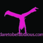 Dare to be Fabulous URL cartwheeler